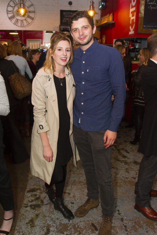 <p>Laura Carmichael and Michael Fox (Frankie)</p><br />© Dan Wooller for WhatsOnStage