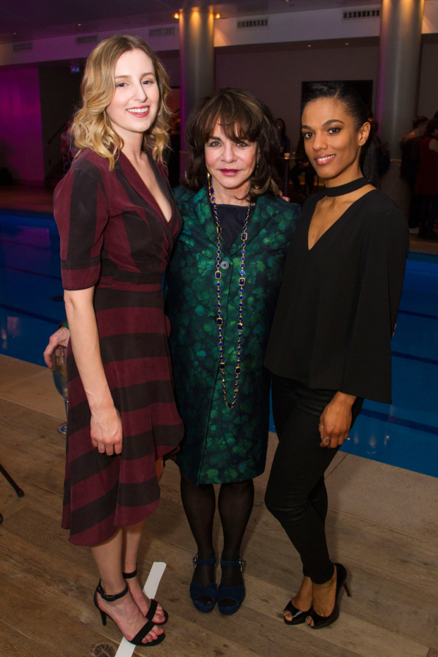 <p>Laura Carmichael (Trudi), Stockard Channing (Kristin Miller) and Freema Agyeman (Claire)</p><br />© Dan Wooller