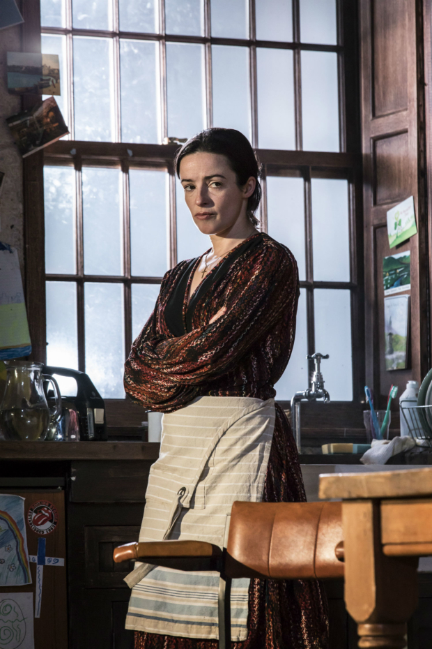 <p>Laura Donnelly (Caitlin Carney) in <em>The Ferryman</em></p><br />(c) Johan Persson