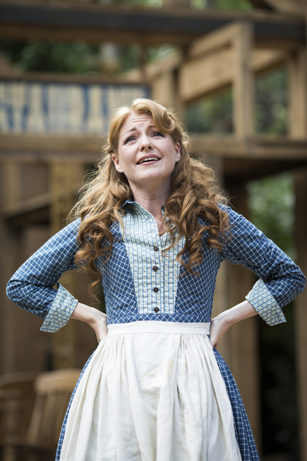 <p>Laura Pitt-Pulford (Milly)</p><br />© Helen Maybanks