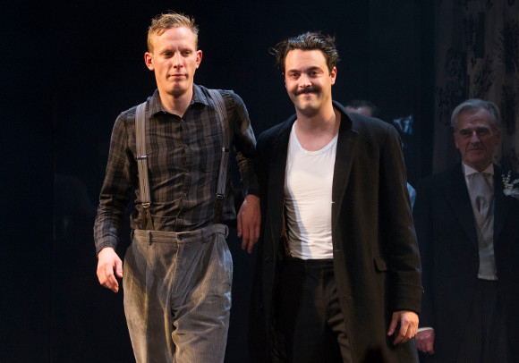 <p>Laurence Fox and Jack Huston</p><br />© Dan Wooller