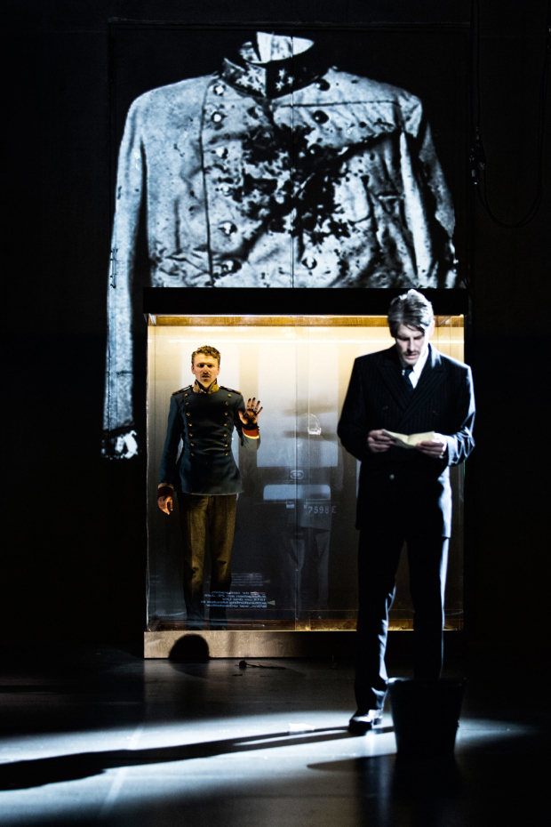 <p>Laurenz Laufenberg and Christoph Gawenda in <em>Beware of Pity</em></p><br />© Gianmarco Bresadola