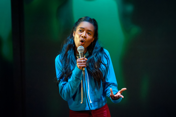 <p>Leah Walker as Darcy in  <em>Ode to Leeds</em></p>