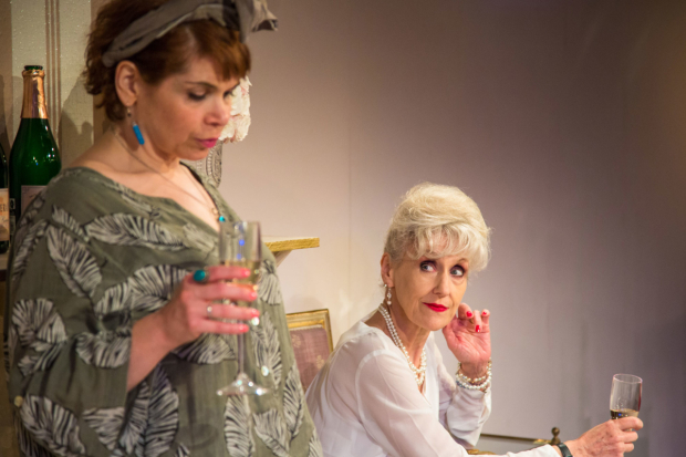 <p>Left to right  Debbie Chazen (Suzanne) and Anita Dobson (Eleanor) in <em>3Women</em></p><br />© Charlie JH Round-Turner