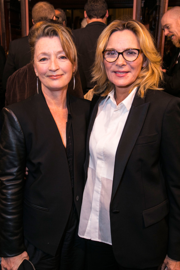 <p>Lesley Manville and Kim Cattrall</p><br />© Dan Wooller for WhatsOnStage