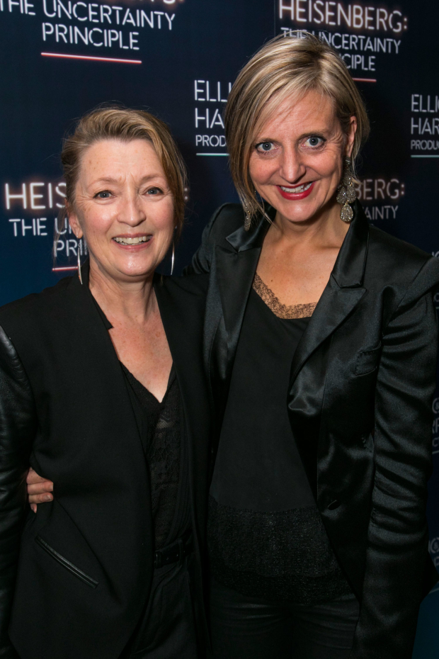 <p>Lesley Manville and Marianne Elliott</p><br />© Dan Wooller for WhatsOnStage
