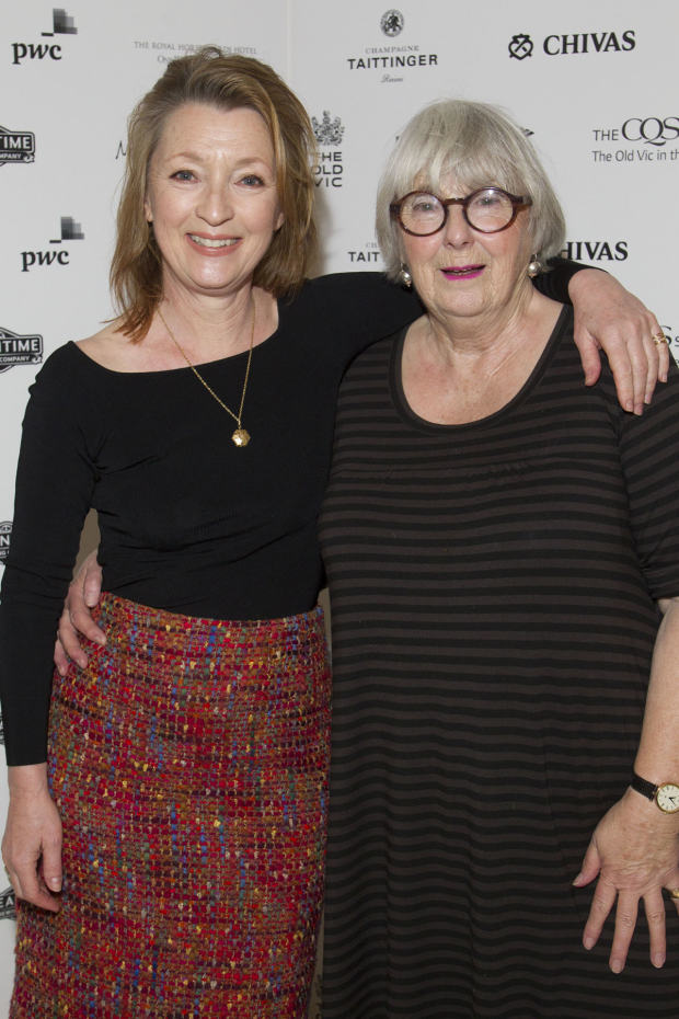 <p>Lesley Manville and Patricia English</p><br />© Dan Wooller for WhatsOnStage
