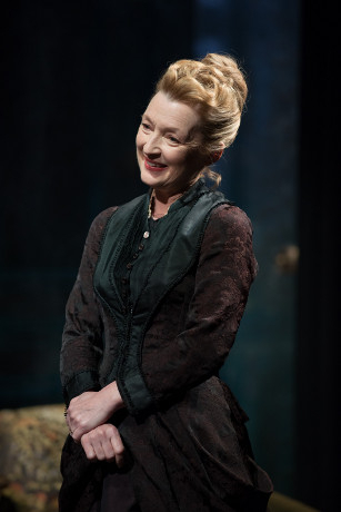 <p>Lesley Manville won Best Actress for her performance in <em>Ghosts</em> at the Almeida Theatre and Trafalgar Studios</p>