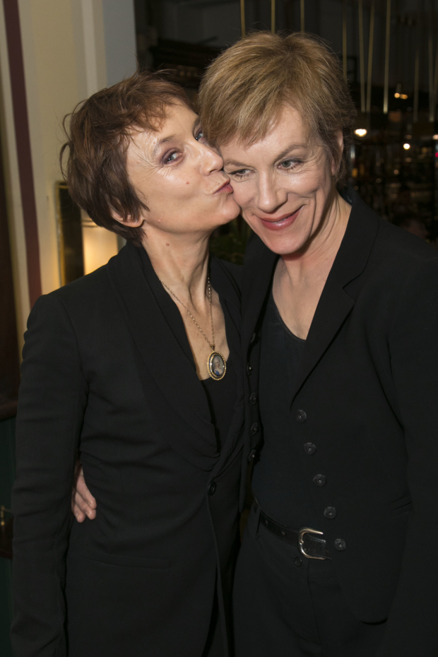 <p>Lia Williams and Juliet Stevenson</p><br />© Dan Wooller for WhatsOnStage