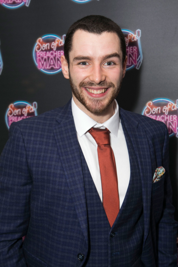 <p>Liam Vincent-Kilbride (Andy/Mike/Young Jack)</p><br />© Dan Wooller for WhatsOnStage