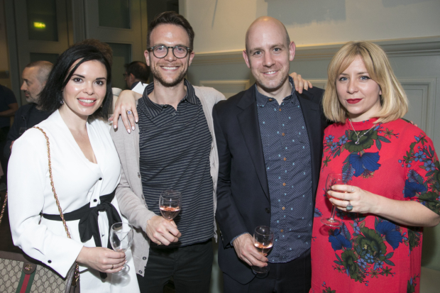 <p>Libby Brodie, Justin Reingold, Robert Hastie and Hannah Price</p><br />© Dan Wooller for WhatsOnStage