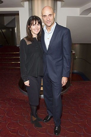 <p>Liza Marshall and Mark Strong</p><br />Dan Wooller for WhatsOnStage