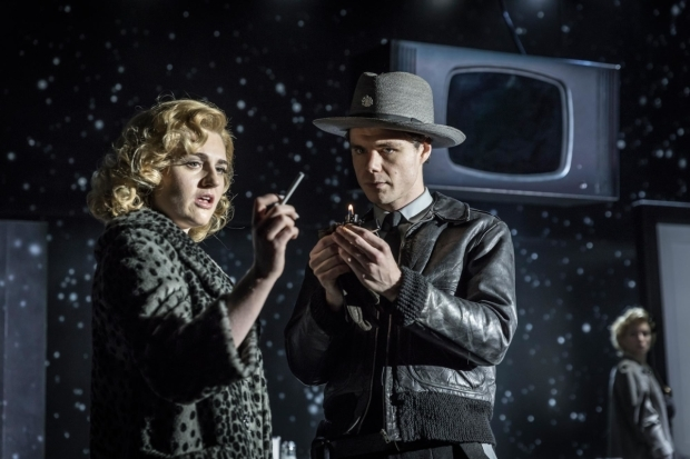 <p>Lizzy Connolly and Matthew Needham in <em>The Twilight Zone</em></p><br />©  Marc Brenner