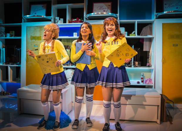 <p>Lizzy Connolly, Lauren Samuels and  Ashleigh Gray</p>