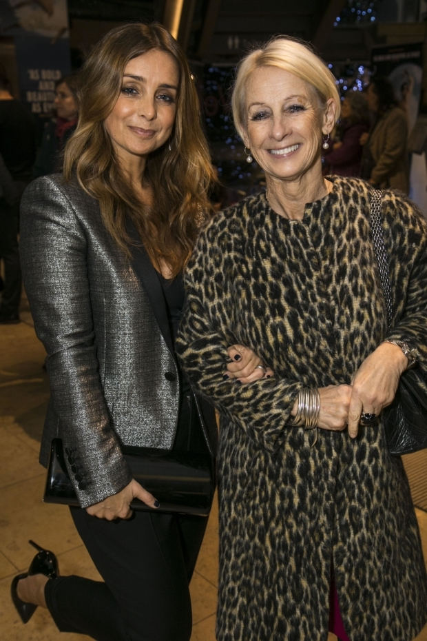 <p>Louise Redknapp and Lynne Nurding</p><br />© Dan Wooller for WhatsOnStage