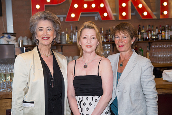 <p>Lovely Leading Ladies of London - Maureen Lipman, Lesley Manville and Celia Imrie</p><br />© Mark Douet