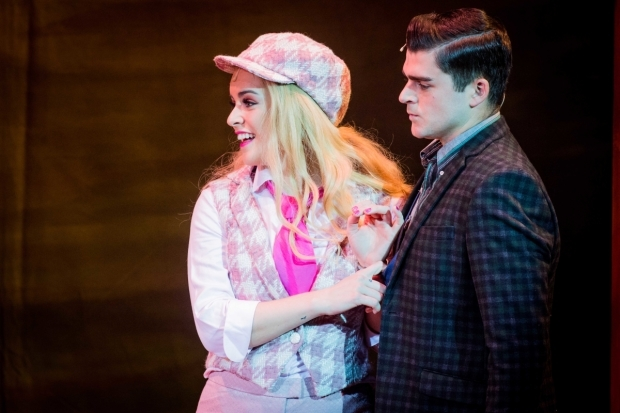 <p>Lucie Jones (Elle) and Liam Doyle (Warner)</p><br />© Robert Workman