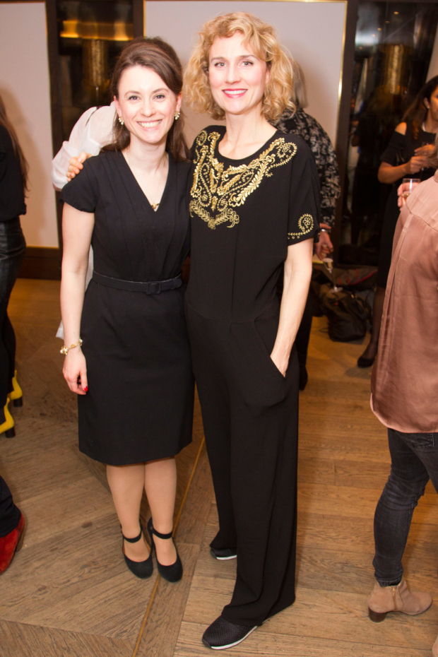 <p>Lucy Kerbel and Jessica Swale</p><br />© Dan Wooller for WhatsOnStage