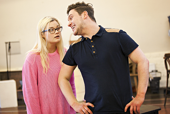 <p>Lucy May Barker and James O&#39&#x3B;Connell</p><br />Pamela Raith