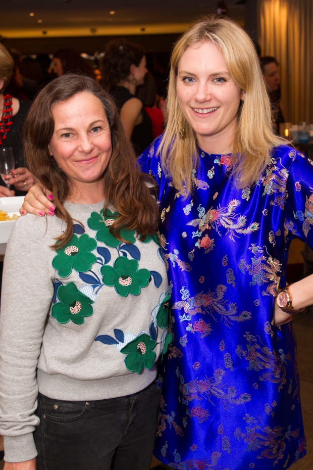 <p>Lucy Morrison and Anoushka Warden</p><br />© Dan Wooller for WhatsOnStage