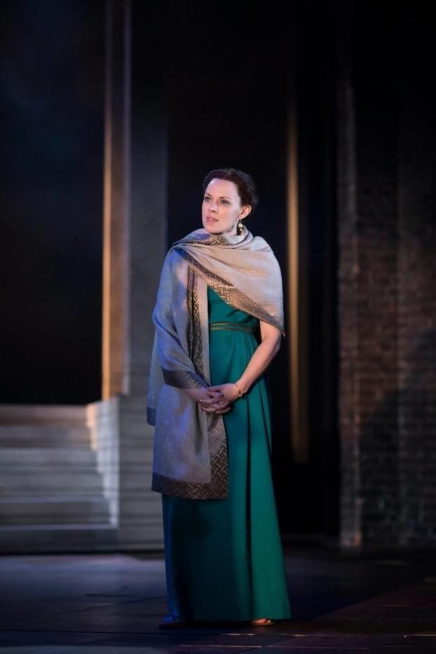 <p>Lucy Phelps as Octavia</p><br />© Helen Maybanks