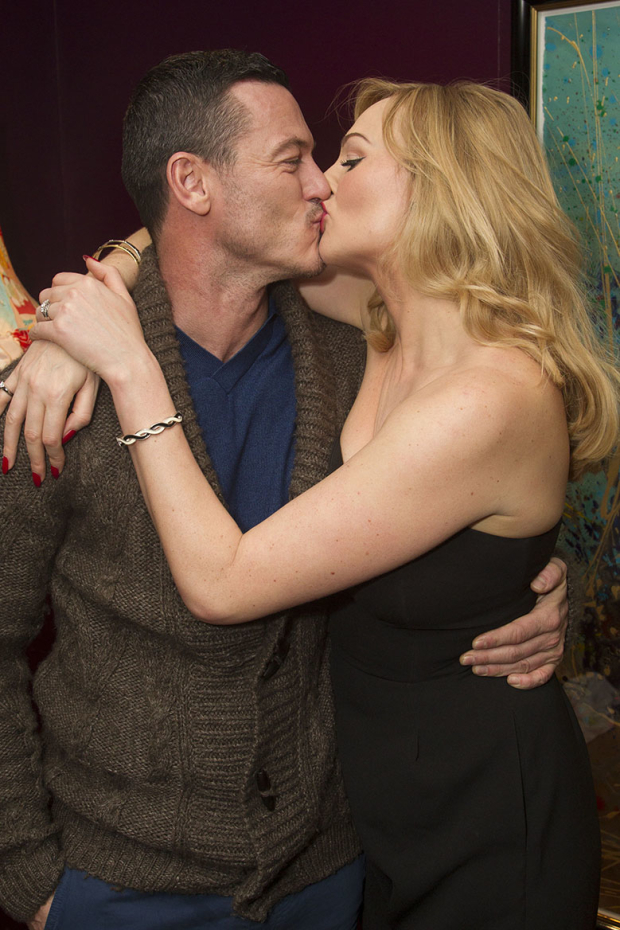 <p>Luke Evans and Katherine Kingsley</p><br />© Dan Wooller for WhatsOnStage