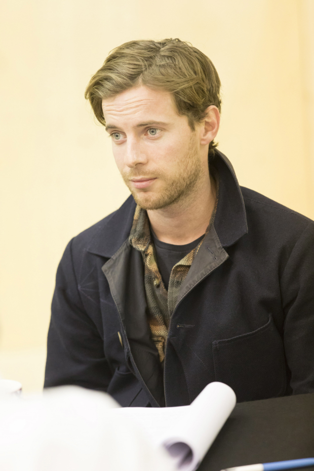 <p>Luke Treadaway in rehearsals for <em>Who&#39&#x3B;s Afraid of Virginia Woolf?</em></p><br />© Johan Persson