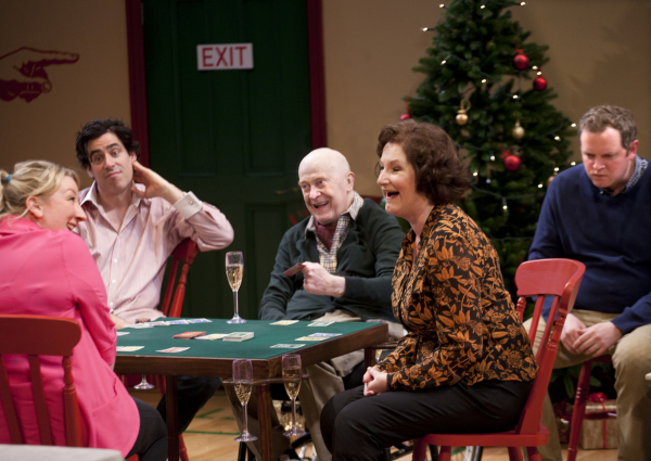 <p>Maggie Service as Carrie, Stephen Mangan as Adam, John Rogan as Francis, Deborah Findlay as Edith and Miles Jupp as Matthew</p><br />Simon Annand