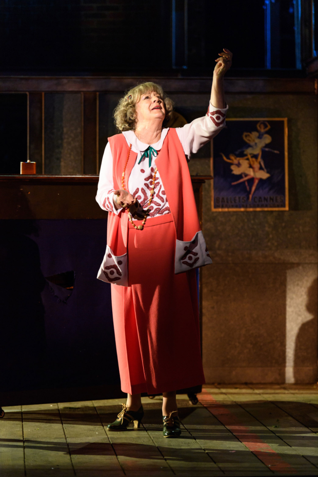 <p>Maggie Steed as Madame Dilly in <em>On the Town</em></p><br />© Jane Hobson