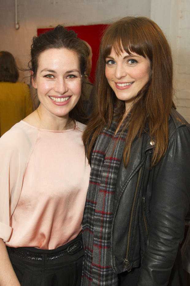 <p>Maimie McCoy and Tamla Kari</p><br />© Dan Wooller for WhatsOnStage
