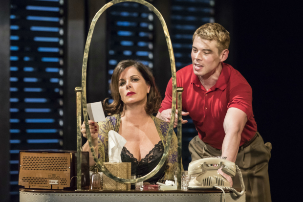 <p>Marcia Gay Harden and Brian J Smith in <em>Sweet Bird of Youth</em></p><br />© Johan Persson