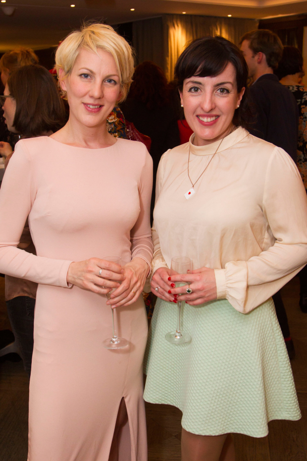 <p>Maria Aberg and Emma Brunjes</p><br />© Dan Wooller for WhatsOnStage