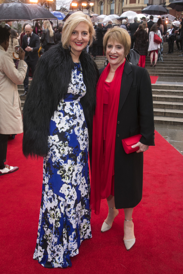 <p>Marianne Elliott and Patti LuPone</p><br />© Dan Wooller