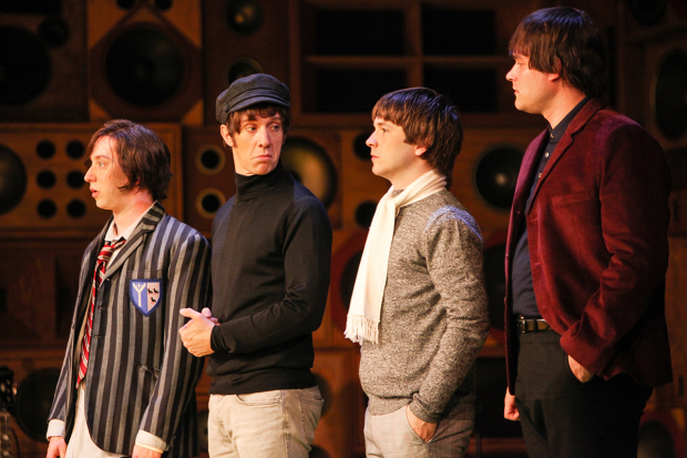 <p>Mark Newnham (Dave Davies), Ryan O&#39&#x3B;Donnell (Ray Davies), Garmon Rhys (Pete Quaife) and Andrew Gallo (Mick Avory)</p><br />© Kevin Cummins
