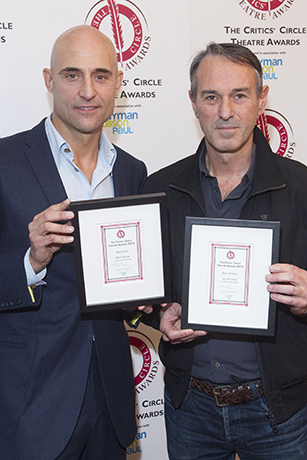 <p>Mark Strong and Ivo van Hove</p><br />Dan Wooller for WhatsOnStage