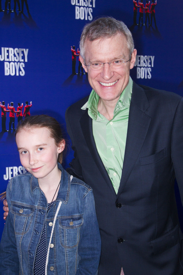 <p>Martha Vine and Jeremy Vine</p><br />© Dan Wooller for WhatsOnStage