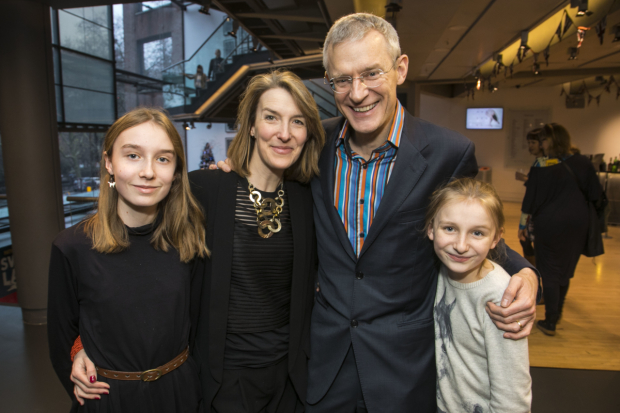 <p>Martha Vine, Rachel Schofield, Jeremy Vine and Anna Vine</p><br />© Dan Wooller for WhatsOnStage