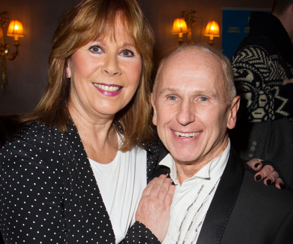 <p>Marti Webb and Wayne Sleep</p>