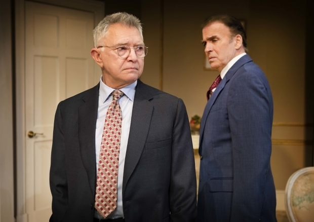 <p>Martin Shaw (William Russell) and Jeff Fahey (Joseph Cantwell) </p><br />© Pamela Raith