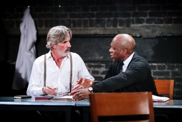 <p>Martin Turner and Burt Caesar in <em>The Plague</em></p><br />© Alex Brenner