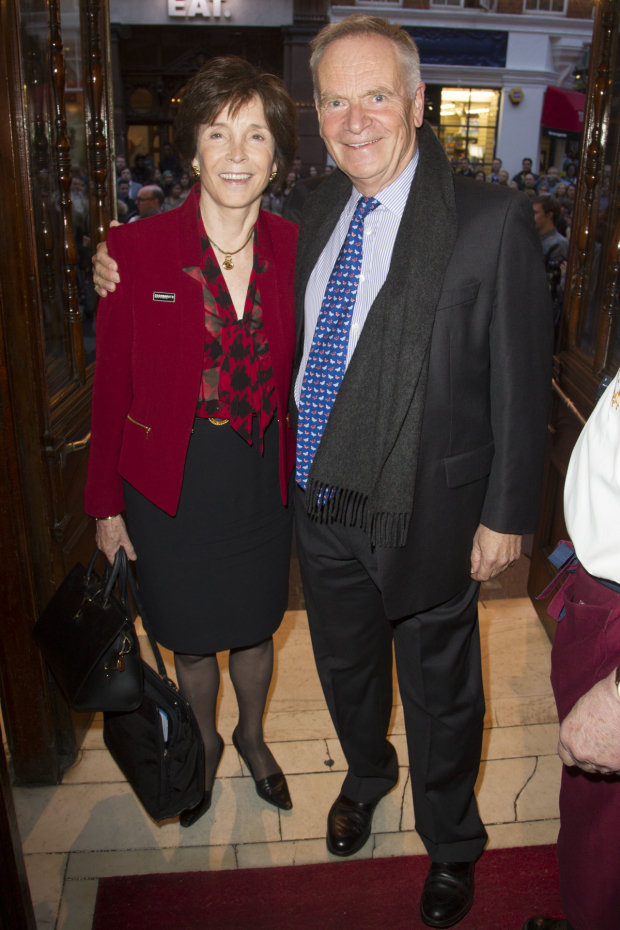 <p>Mary Archer and Jeffrey Archer</p><br />© Dan Wooller for WhatsOnStage