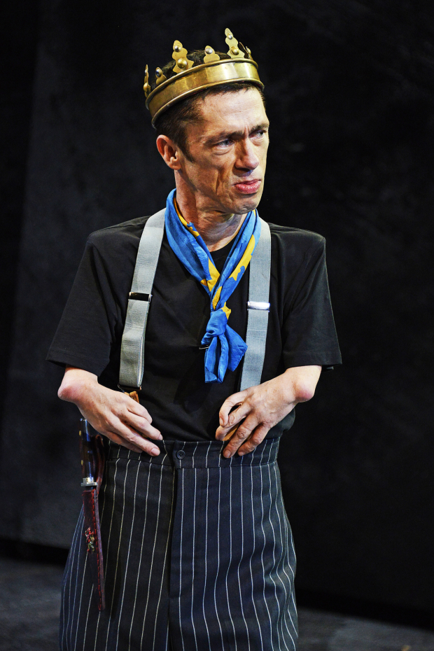 <p>Mat Fraser in <em>Richard III</em></p><br />© Nobby Clark