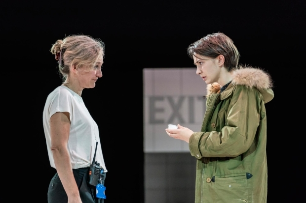 <p>Matilda Ziegler (Doctor) and Lisa Dwyer Hogg (Emma)</p><br />© Johan Persson