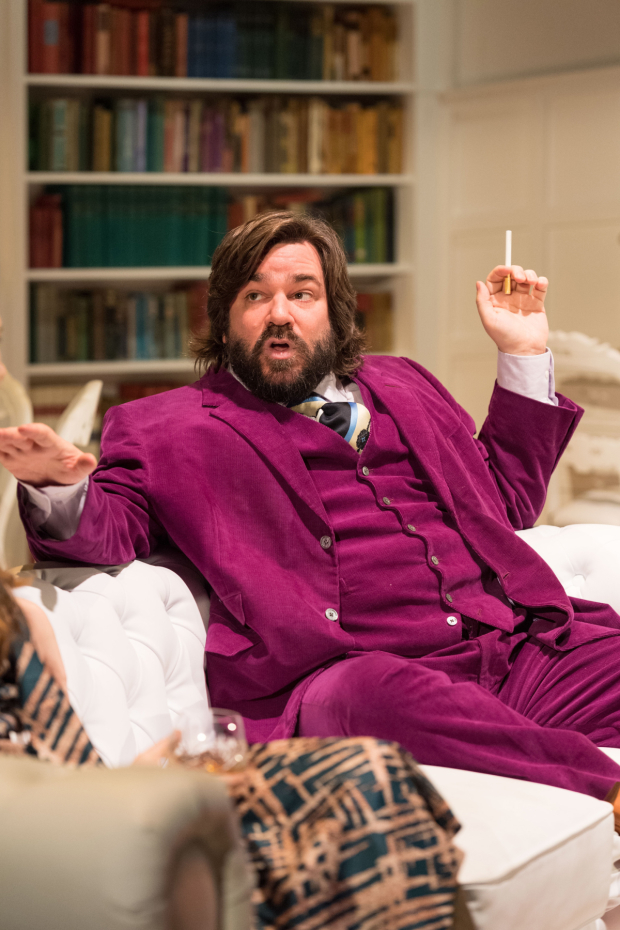 <p>Matt Berry in <em>The Philanthropist</em></p><br />© Manuel Harlan