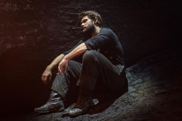 <p>Matt Ryan (Gilbert) in <em>Knives in Hens</em></p><br />© Marc Brenner