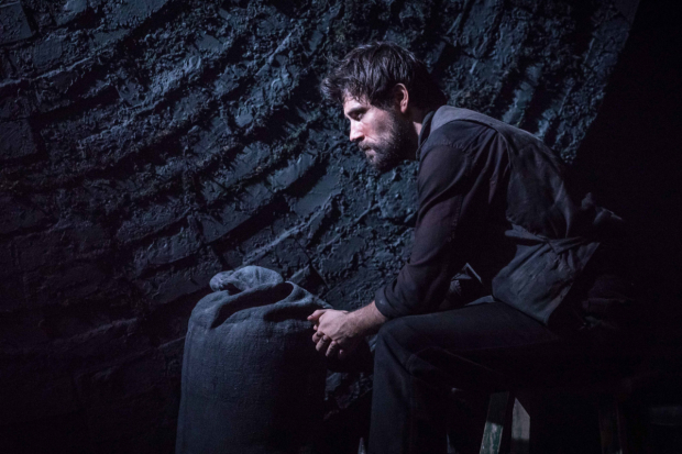 <p>Matt Ryan (Gilbert) in <em>Knives in Hens</em> </p><br />© Marc Brenner