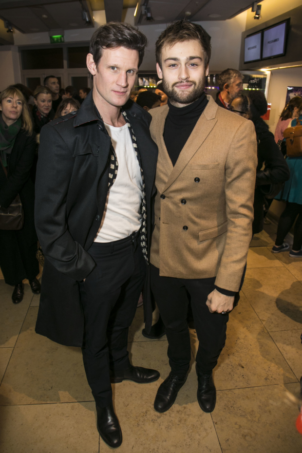 <p>Matt Smith and Douglas Booth</p><br />© Dan Wooller for WhatsOnStage