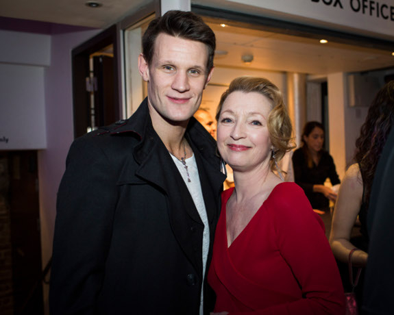 <p>Matt Smith and Lesley Manville</p><br />© Helen Maybanks