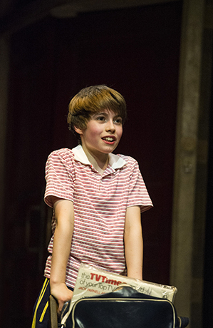 <p>Matteo Zecca (Billy) in <em>Billy Elliot</em></p><br />© Alastair Muir