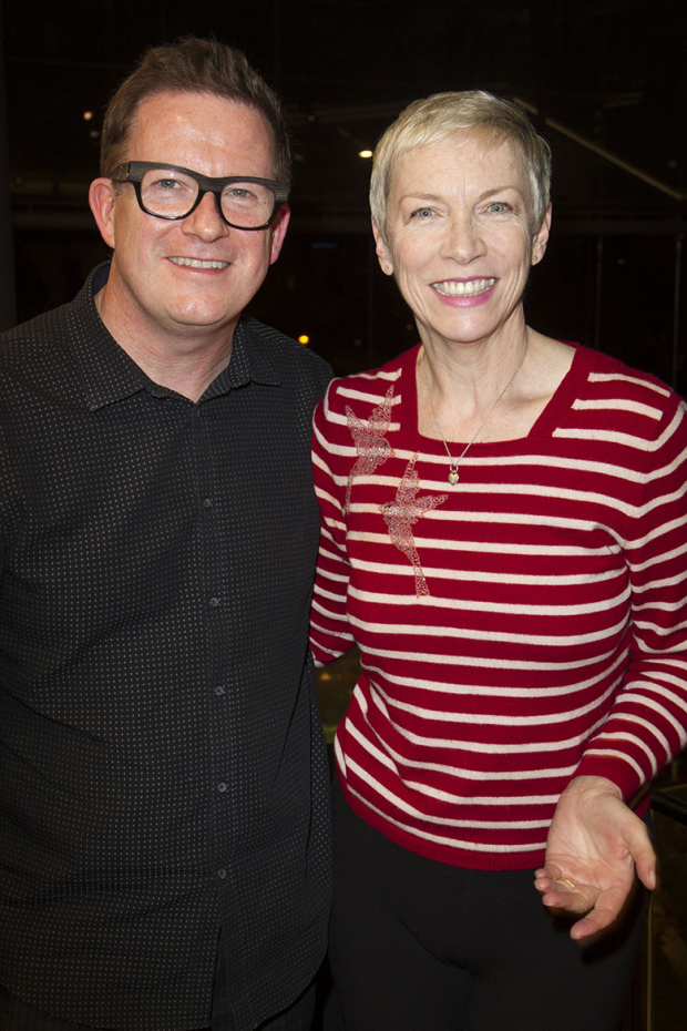 <p>Matthew Bourne and Annie Lennox at the press night for <em>Sleeping Beauty</em> at Sadler&#39&#x3B;s Wells</p><br />© Dan Wooller for WhatsOnStage